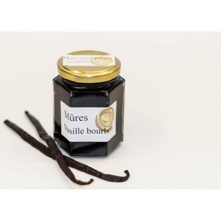 confiture mûres-vanille
