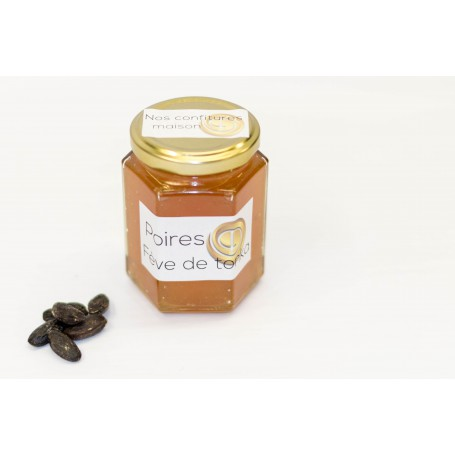 confiture poires-tonka